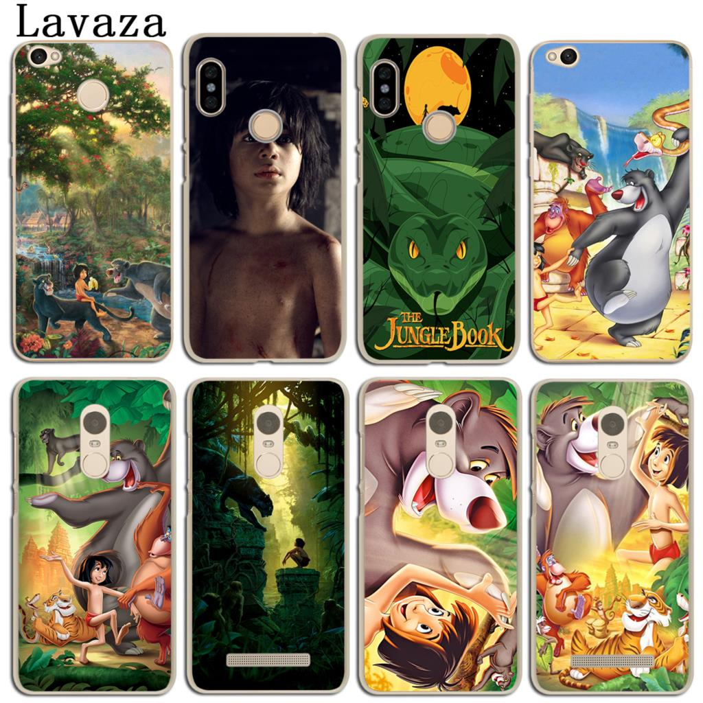 Lavaza Cartoon The Jungle Book Phone Case for Xiaomi Redmi 4X Mi A1 6 5 5X 5S Plus Note 5A 4A 2 3 3S 4 Pro Prime 4X MiA1 Mi6