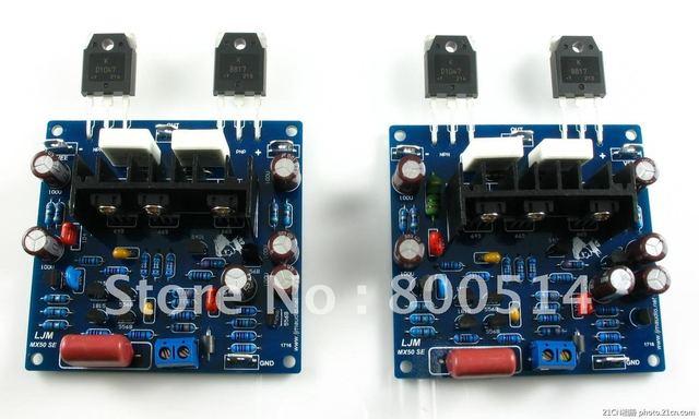 LJM- MX50 Power amplifier kit    SanKen SK2837 1186  (include 2 amp board kit)