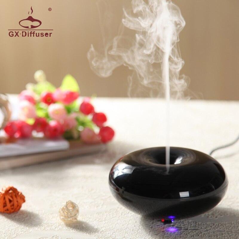 GX. Diffusor 160 ml GX-03K Parfüm Aromatherapie Ätherisches Öl Aroma Diffusor Ultraschall Luftbefeuchter Elektrische Nebel-hersteller Fogger