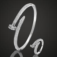 Blucome Zircon Bangle Jewelry Brand Women S Gold Bangles Rings Bijuteriras Copper Men Bangle Pulseira Joias