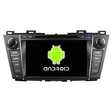 ROM 16G Quad Core 1024*600 Android 5.1.1 Fit Mazda 5 PREMACY 2009 2010 2011 2012 Mazda5 Car DVD Player GPS TV Radio Navigation