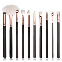 10Pcs Makeup Brushes Set Cosmetic Brush Pro Powder Blush Foundation Eyeshadow Eyeliner Lip Cosmetic Brush Kit Beauty Tools
