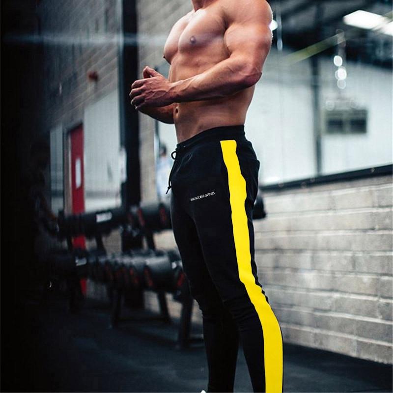 HTB1991TXhv1gK0jSZFFq6z0sXXaF ENJPOWER New Men Pants Hip Hop Fitness clothing Joggers Sweatpants Side stripe classic fashion Streetwear Track Pants Trousers