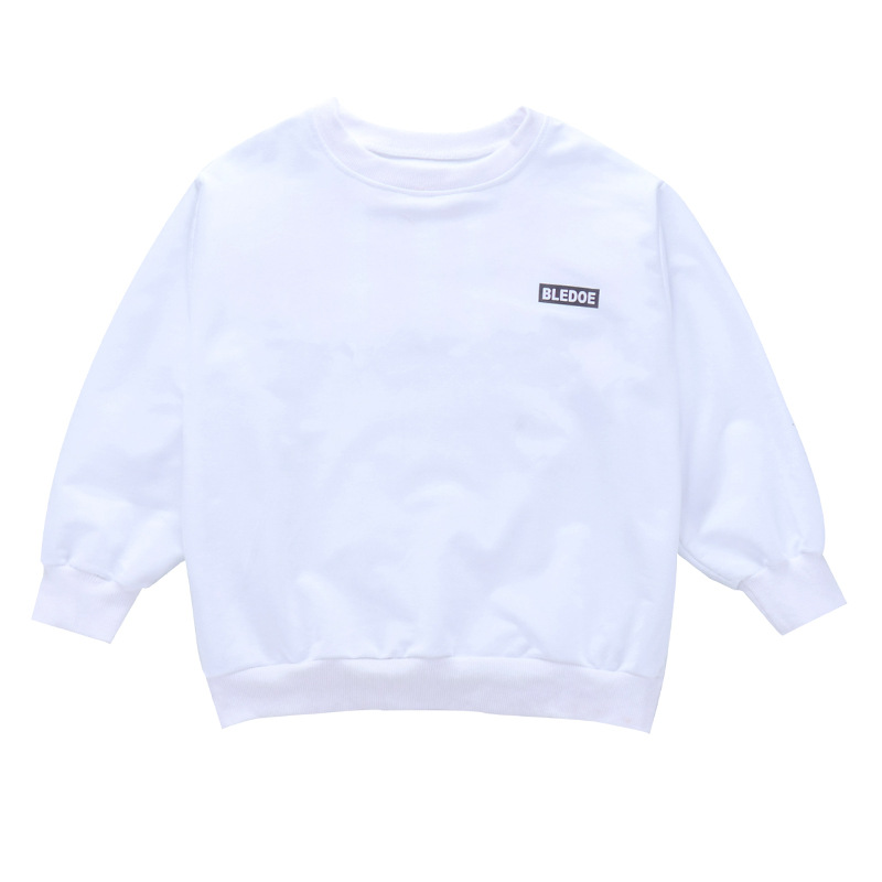 Spring Children Clothes Cotton White Long Sleeve T shirts and Pants Hip Hop Streetwear Girls Clothing 5 6 8 11 12 14 16 18 Years in Clothing Sets from Mother Kids