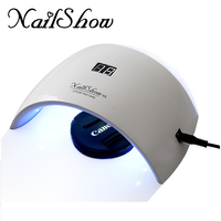 NailShow 2018 New Ice Lamp SUN9S 24W UV LED Nail Lamp Gel Polish Lamps Manicure Machine LED Light For Drying Nails Quickly