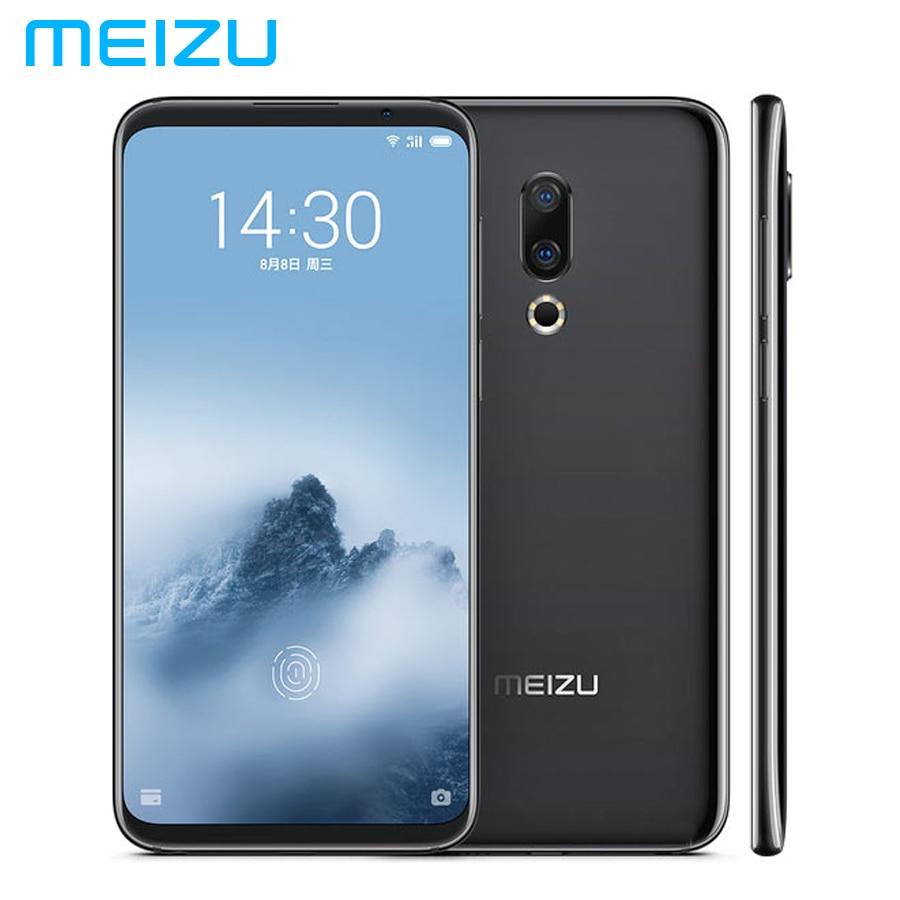 Marka Yeni MEIZU 16th LTE 4G Cep Telefonu 8 GB RAM 128 GB ROM Snapdragon845 OctaCore 6.0 1080x2160 p Tam ekran 12MP + 20MP Android 8Marka Yeni MEIZU 16th LTE 4G Cep Telefonu 8 GB RAM 128 GB ROM Snapdragon845 OctaCore 6.0 1080x2160 p Tam ekran 12MP + 20MP Android 8