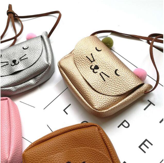 10 pieces cute women animal wallets purses brand female small leather cat purse phone pocket bag womens wallet cuzdan