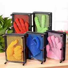 3D Clone Pin Art Carving Hand Shape Model Toy Children Toy Desktop Office Toy