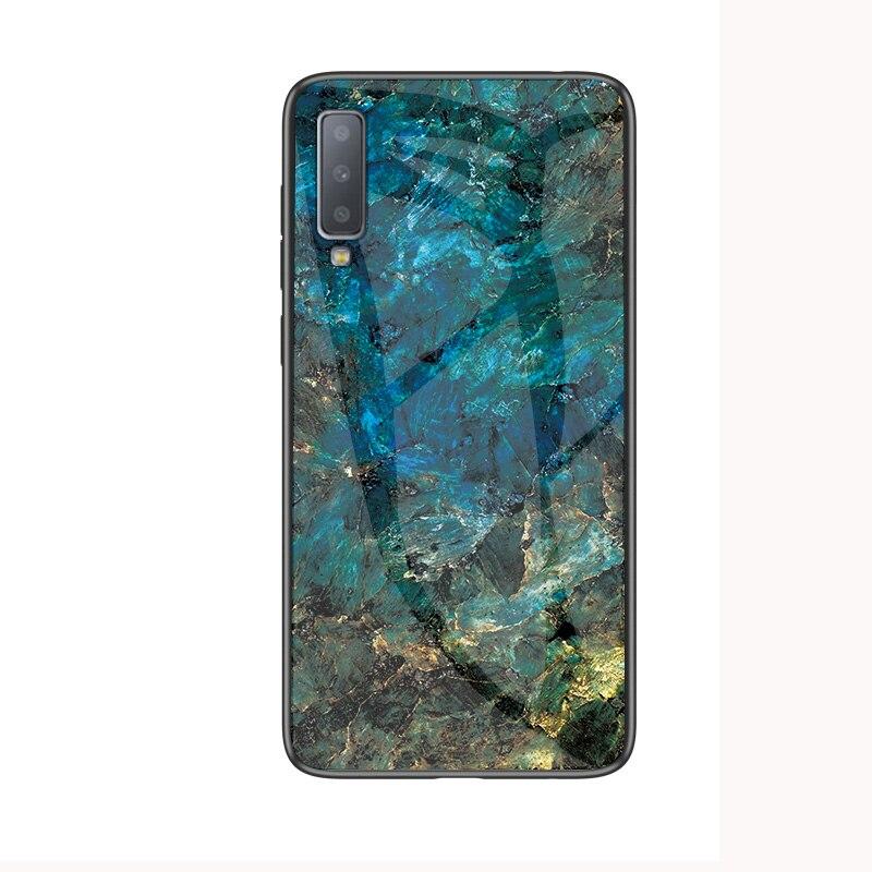 Мрамор Стекло чехол для samsung Galaxy S10E S9 S8 S10 плюс 5G M30 A10 A20 A30 A40 A50 A70 A7 J4 J6Plus Note 9 8 10 Plus чехол - Цвет: 3