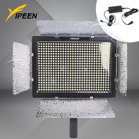 Yongnuo YN 600 YN600 LED Video Light 3200k 5500k with 600 LED for Canon Nikon+AC Adapter Power Switching Charger