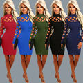Sexy Women's Bandage Bodycon Long Sleeve Evening Party Short Mini Dress