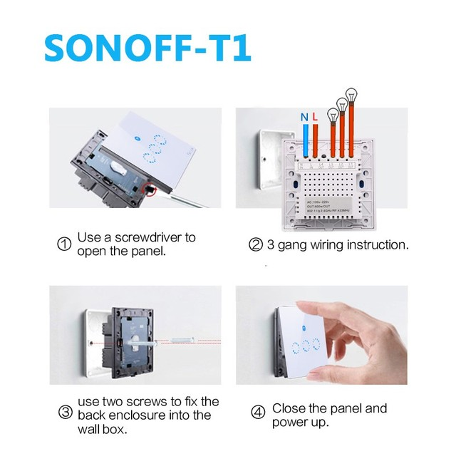 Sonoff t1 smart wifi rf app touch control wall light switch 1 2 sonoff t1 smart wifi rf app touch control wall light switch 1 2 asfbconference2016 Image collections