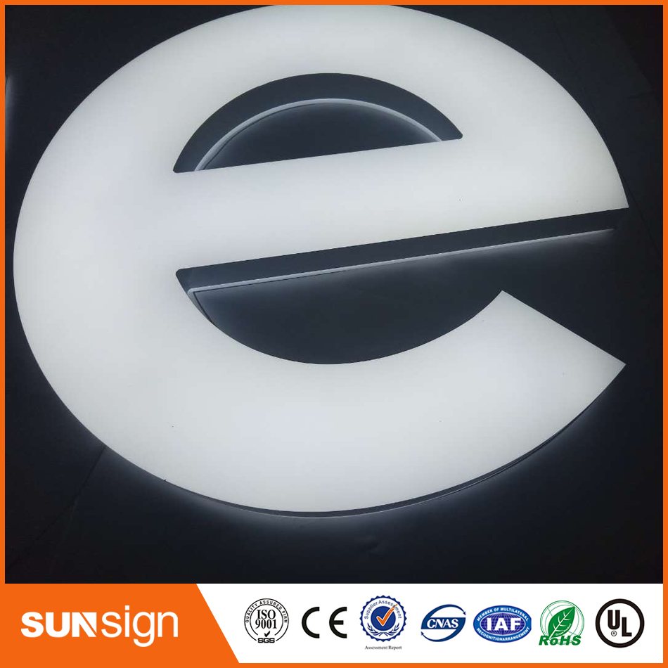 Customized 3D Acrylic Lighted Wall Letters
