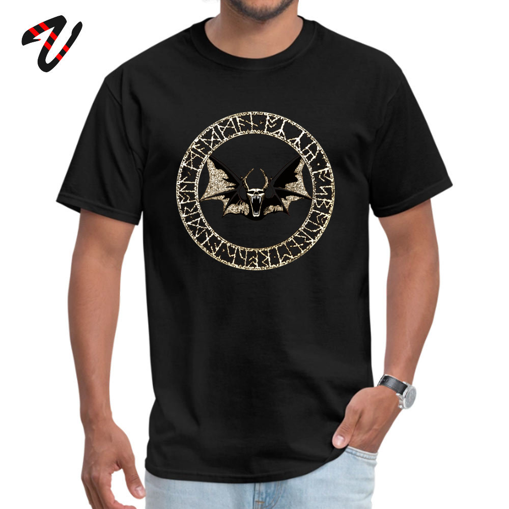 2019 New Fashion Male _black T-Shirt Ozzy Bat Orb Casual Tops Tees 100% Cotton Short Sleeve Design Tops Tees Crew Neck Ozzy Bat Orb 5118 black