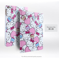 For Apple Ipad Mini 4 Luxury Fashion 3D Embossing Painted Magnetic PU Leather Case Smart Cover