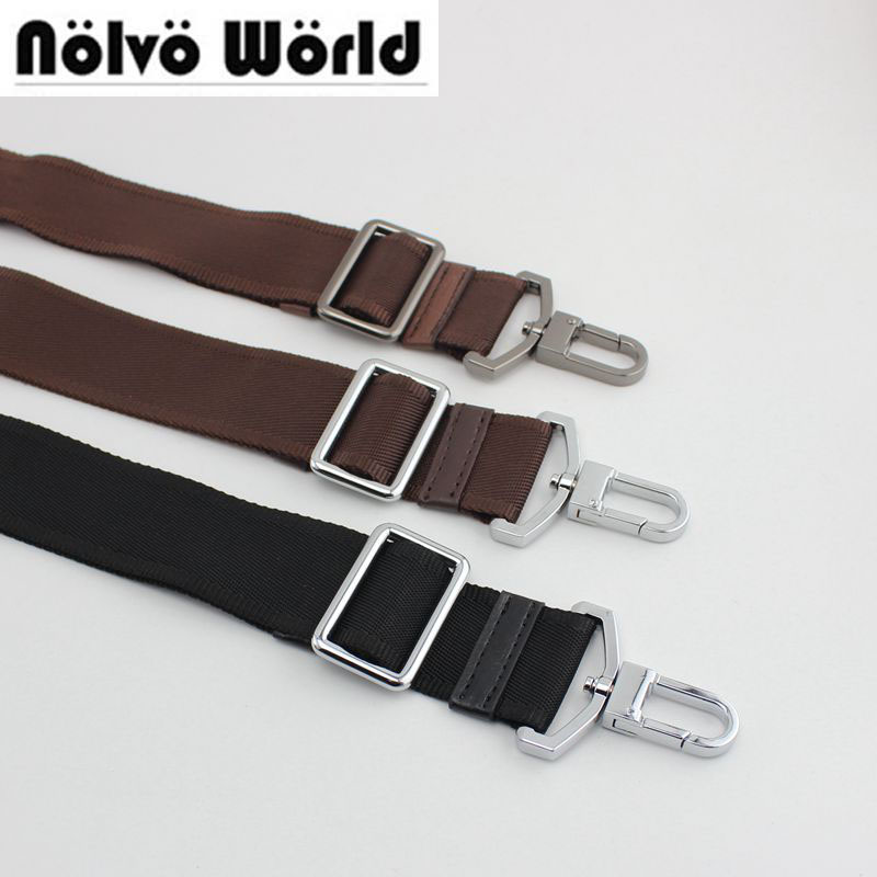 Accept Mix Color 10pcs 3.8cm Wide Belt 30KG hook Adjusted Strap,men bags long strap,man briefcase bag straps,repair bag shoulder
