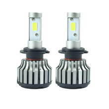 2x Car styling Car H7 H4 LED Headlights Bulb HB2 9003 HB3 9005 HB4 9006 H27 880 881 H3 H8 H9 H11 H1 LED H7 H4 Lights for Car