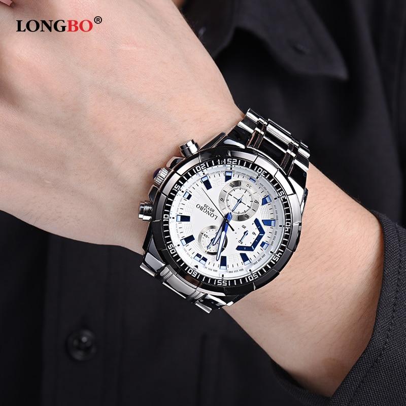 1d3e0b61866 New LONGBO Men Watches 80135 Business Men s Watch Role Luxury Watch Men  Quartz Wristwatch montre homme relojes hombre orologi