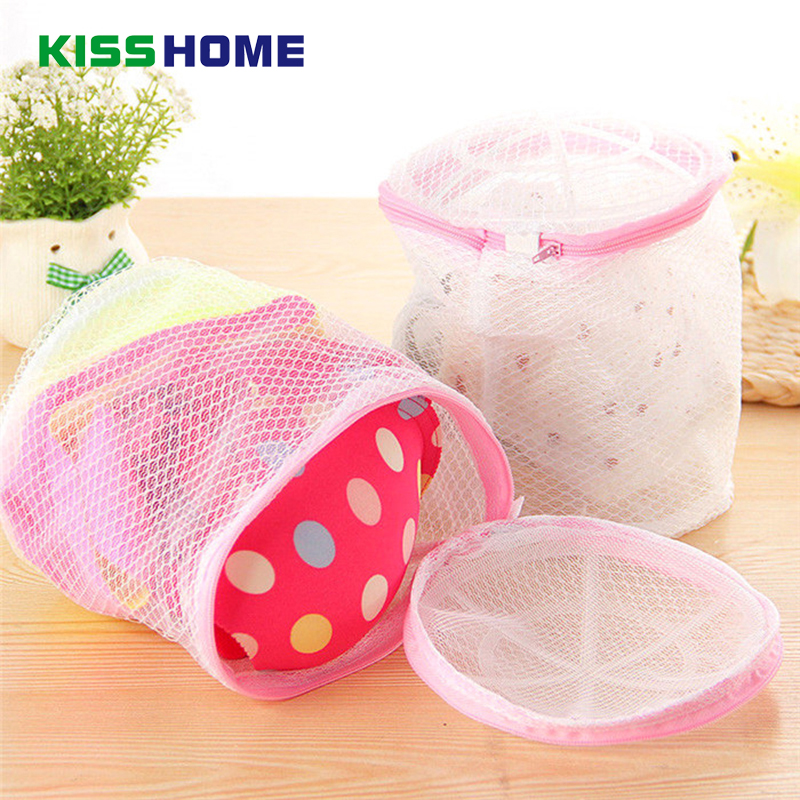 Premium Bra Wash Pink Bags Laundry Mesh Washing Bag Size 19*14cm Lingerie Bag Delicates Laundry Packet Protects Clothes Washing