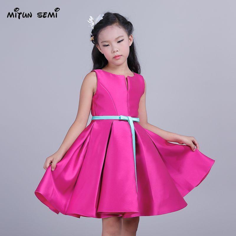 mitun Girls Dresses Children Ball Gown 6 7 8 Birthday Party ...