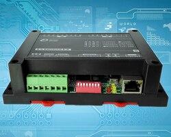 Moduł Ethernet 8AI8DI przemysłowych akwizycji moduł sterujący ModbusRTU TCP protokół UDP IO jednostka