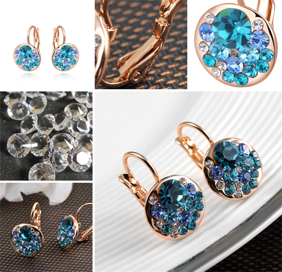 HTB1995JacfrK1Rjy1Xdq6yemFXat - Luxury Ear Stud Earrings For Women Fashion Round Charm Jewelry Romantic Lovely Accessories Gift Wholesale