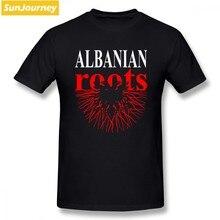 7c2513052 Albanian Roots Albania Flag T Shirt Short Sleeve Mens T Shirts Fashion 2018  Hip Hop Vegan