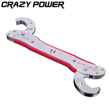 CRAZY POWER Multi-function Adjustable Wrenches Portable Quick Snap and Grip torque wrench Fast Faucet Tool Hook Type Wrench Set