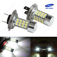 2x H7 499 Bulb 45W High Power SAMSUNG LED Headlight Daytime DRL Fog Light Lamps CA274