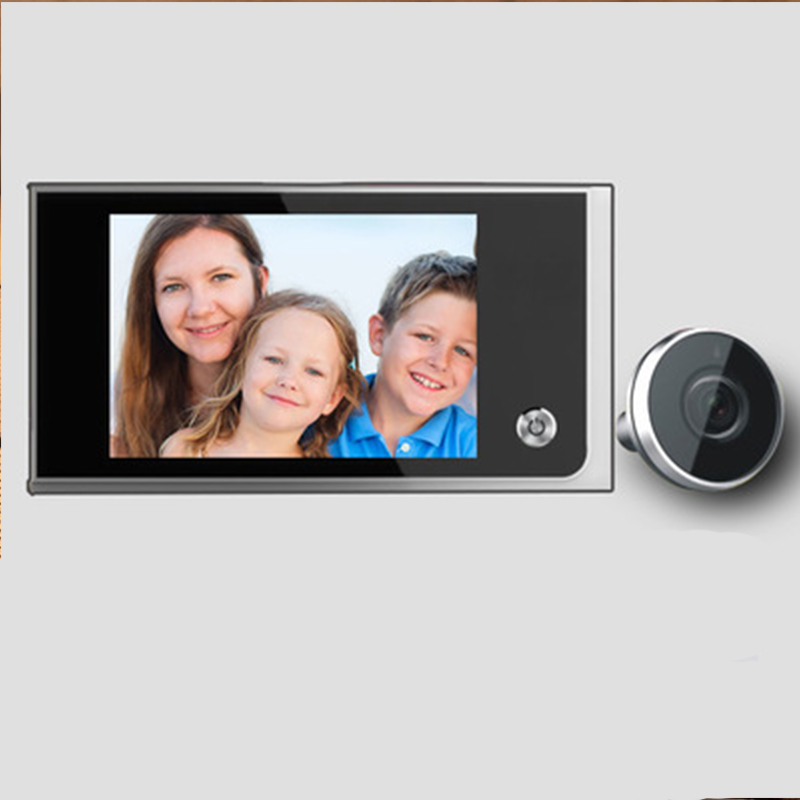 a05ab026705 3.5-inch Digital Video Eye LCD Door Camera Peephole 120 Degree Mini  Doorbell With Screen Viewer