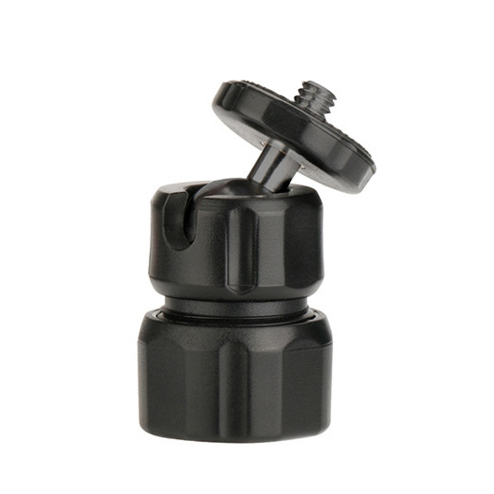 Mini Metal 360 degrees 1/4 Screw Ball Head Mount for DSLR Camra Tripod