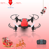 2018 Newest Mini RC Pocket Dron With HD Camera/No Cam Foldable Drone Gravity Sensor 2.4G Altitude Hold
