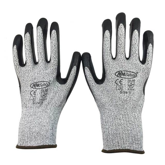 NMSafety New Arrival 100% Working Protective Gloves Cut-resistant Anti Abrasion Safety Gloves