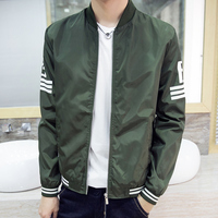 2017 Fashion High Quality bomber jacket Army Green Military red varsity Ma-1 Flight Jacket Pilot Air Force Men Bomber Jacket