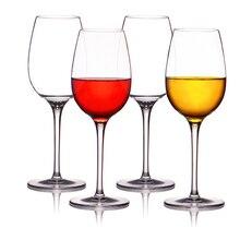 LC 220 мл/355 мл Пластиковые Винные бокалы чашки tritan BPA бесплатно Небьющийся Кубок для вина для красного и белого вина, Moscato, Merlot, Cabernet
