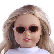 Five new fashion sunglasses Fit For American Girl Doll 18 inch American Girl Doll 43CM Newborn