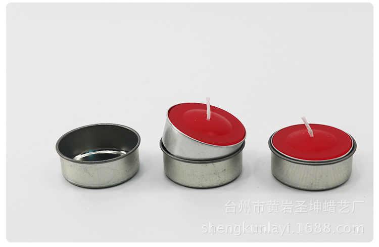 10 chiếc Có Thể Tái Sử Dụng Thép không gỉ Nến Tealight Giá Đỡ TỰ LÀM Nến Cốc Handmade Nến Tealight Cốc Nguyên Chất Liệu Sắt Nến Khuôn