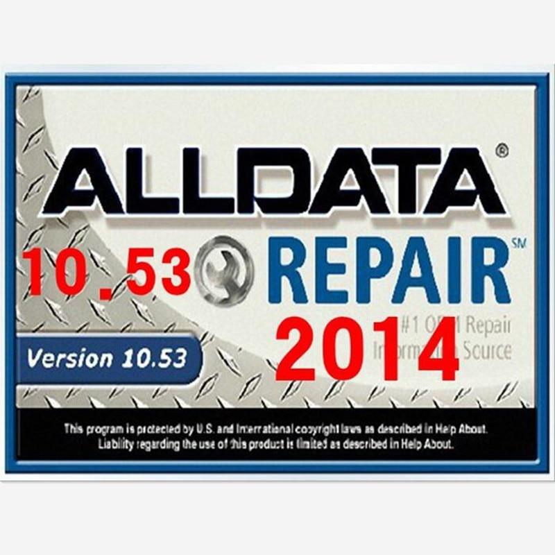 Neue 2017 Auto reparatur software Alldata 10,53 + mitchell bedarfs 5 ...