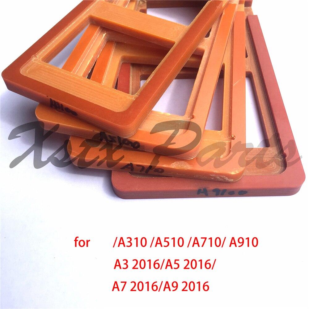 bilder für 4 TEILE/LOS Präzision Bildschirm Sanierung LCD Outer Glas Form Formen für samsung galaxy a3 a5 a7 a9 2016 a310 a510 a710 A910