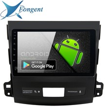 "9 ""IPS 1Din Auto Radio Android 9.0 für Mitsubishi Outlander Multimedia 2007 2008 2009 2010 2011 GPS Auto Stereo DPS multimedia"