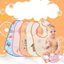 New Arrive Baby Bibs Waterproof Silicone Feeding Infant Saliva Towel Newborn Cartoon Aprons Food-grade