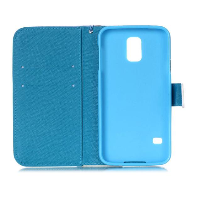 Leather Soft Cover For Samsung Galaxy S5 mini S5mini