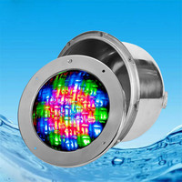 LED Swimming Pool Light 3W 6W 9W DC12V/24V Embedded Underwater Lamp Fountain Lamp PAR56 Colorful Underwater Spotlight Spa Party