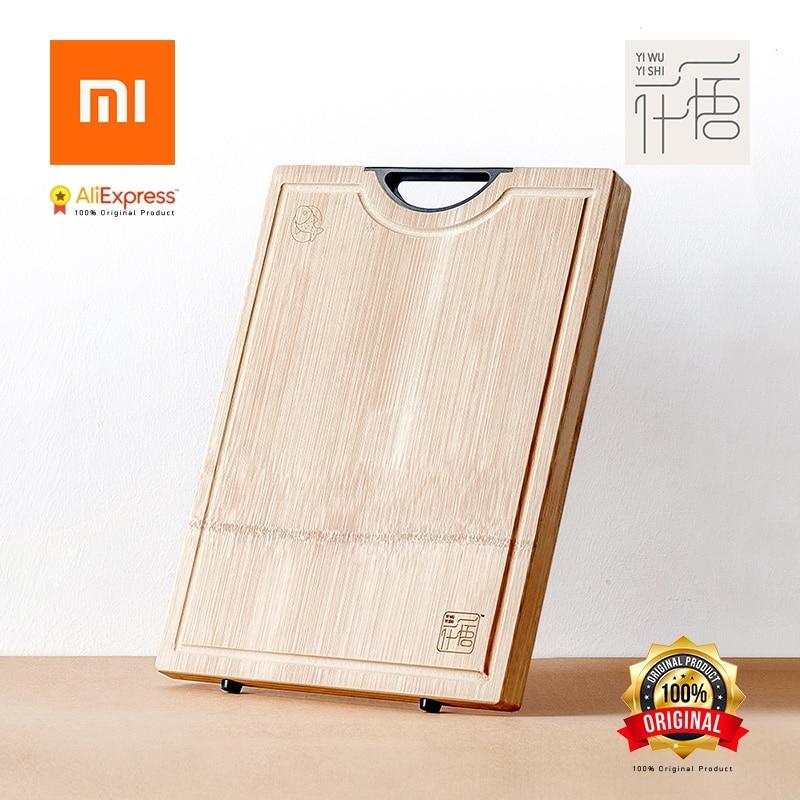 Xiaomi Original YI WU YI SHI schneidebrett Schneidebrett Ohne Wachs Ohne öl Verdickt gesamten Bambus Antimikrobielle