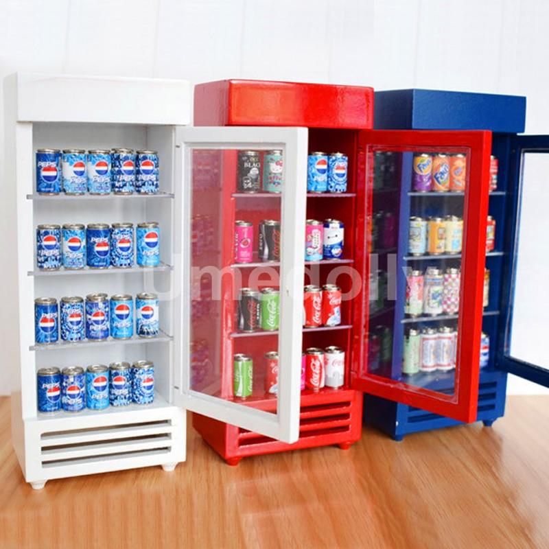 Mini Soda Set Miniature dollhouse 1:12 Little Shop Mini Bran Japanese Series