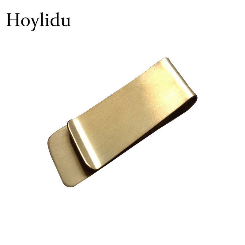 High Quality Stainless Steel Metal Money Clip Wallet for Men and Women Fashion Silver Gold Coin Dollar Cash Clamp Holder Wallets