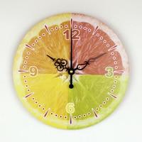 Modern Lemon Wall Clock Wall Decoration Clock Kitchen Wall Clocks Guess Watch Mechanism Pow Patrol Relogio Parede Decor WZH482
