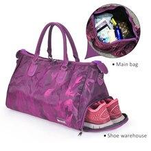 Women Sport Bag Men Training Gym Bag Large Waterproof Travel Handbag Outdoor Sports Shoulder Bags Female Fitness Yoga Tote 2020