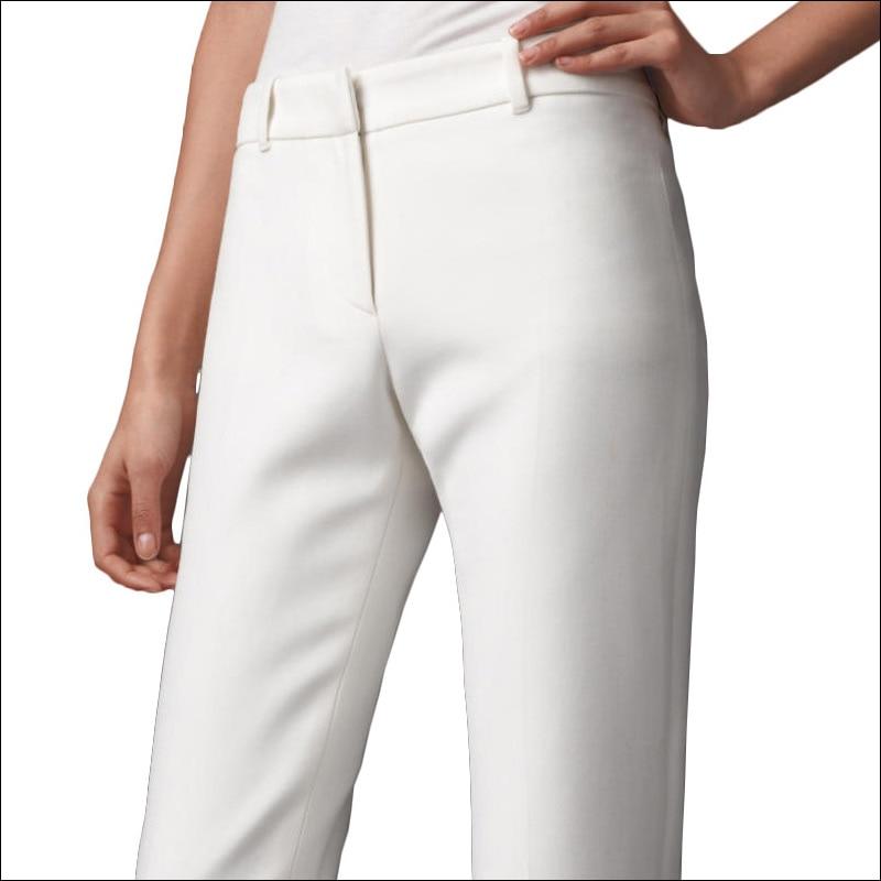 Pantalon femme, новые модные широкие брюки с высокой талией для женщин, офисная одежда, обтягивающие брюки, женские винтажные брюки - 5
