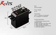 RealTS One piece Batan D226F 13kg dual ball bearing digital metal gear coreless servo for rc car rc boat rc airplane